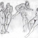5 minute figure sketch