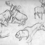 Museum sketches 2