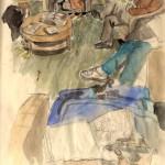 doctor's waiting room sketch 1