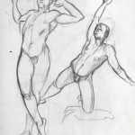 Male figure drawing