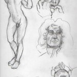statues sketch
