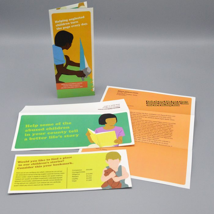 Hibiscus Direct Mail Package