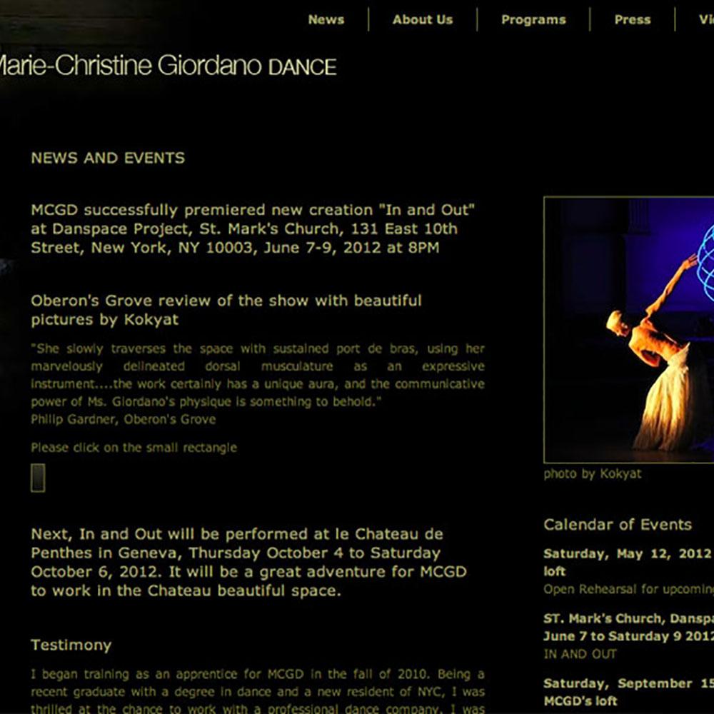 Marie-Christine Giordano Dance
