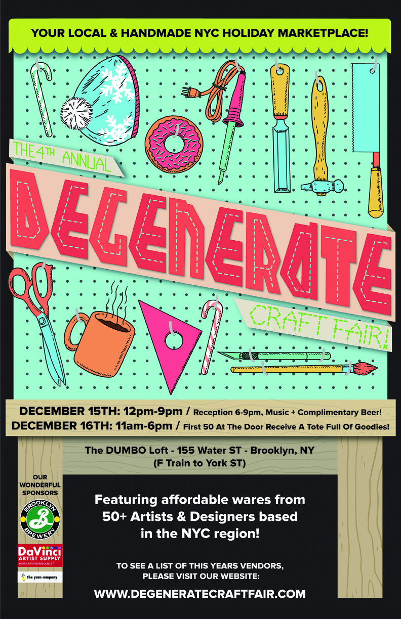 Degenerate Craft Fair