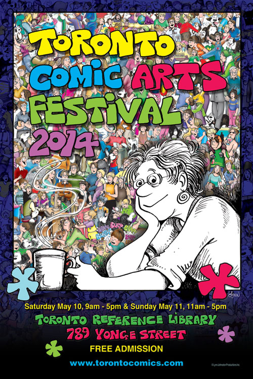 Going to Toronto Comic Arts Festival this weekend!