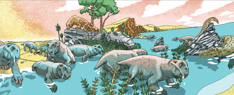 Progress on Triassic book, and other project